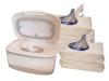 Handdesinfektionstücher ORIGINAL (6) + HanddesinfektionstücherSpenderBOX (weiss, leer)